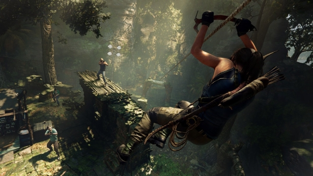 Lara Croft in Shadow of the Tomb Raider