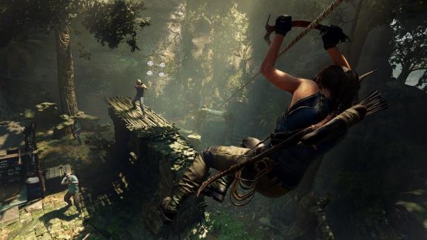 Lara Croft im Einsatz