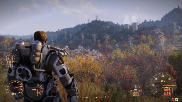 Spielewelt von Fallout76