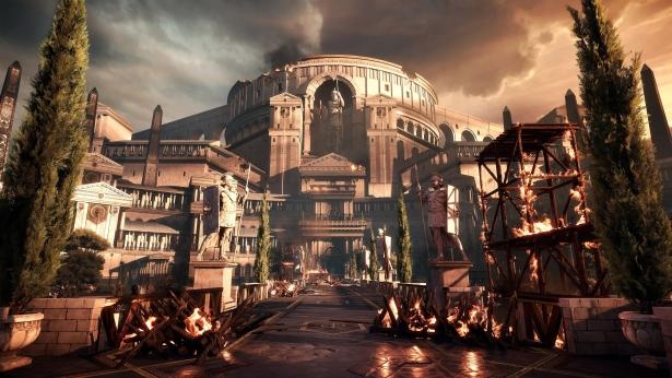 Antikes Rom aufbauen