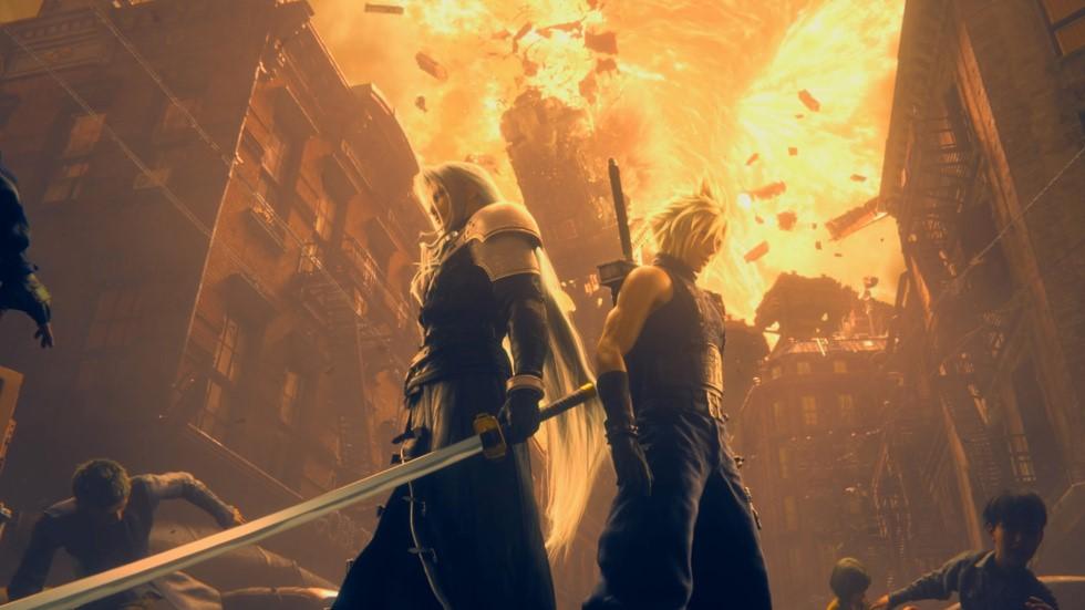 Beeindruckende Grafik bei Final Fantasy 7 Remake
