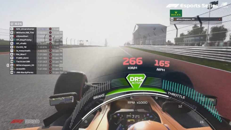 Rennspiel F1 2020
