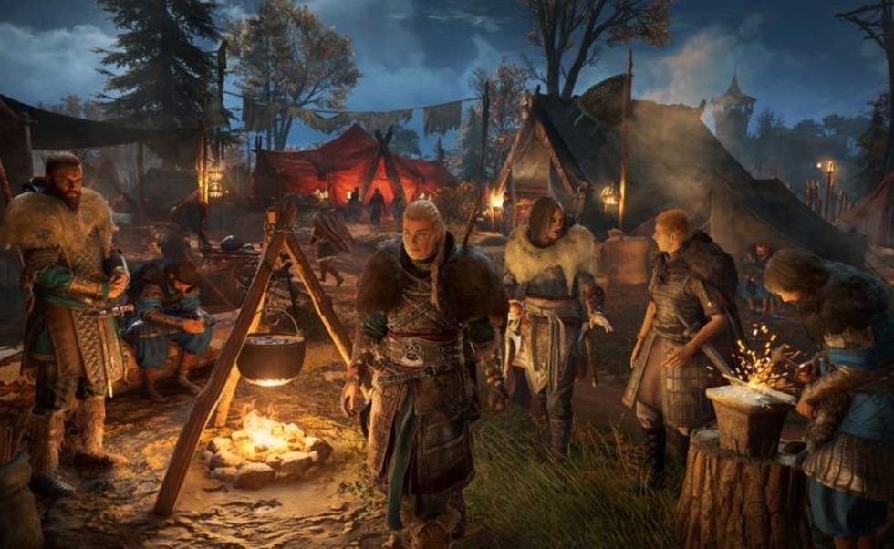 Spielszene in Assassin´s Creed: Valhalla
