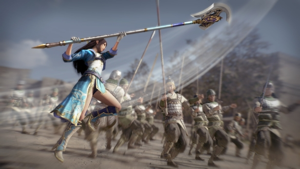 Kampfszenen bei Dynasty Warriors 9