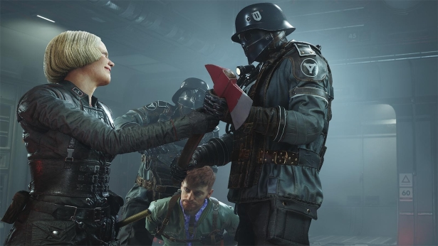 Action mit Wolfenstein 2